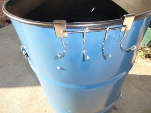 Making A 55 Gallon Steel Drum Into A Bbq Smoker Simpson Bbq