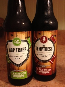 Two samples from Lakewood