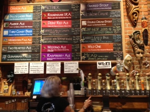The plethora of beers available to us