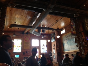 I love the breweries that reclaim old buildings