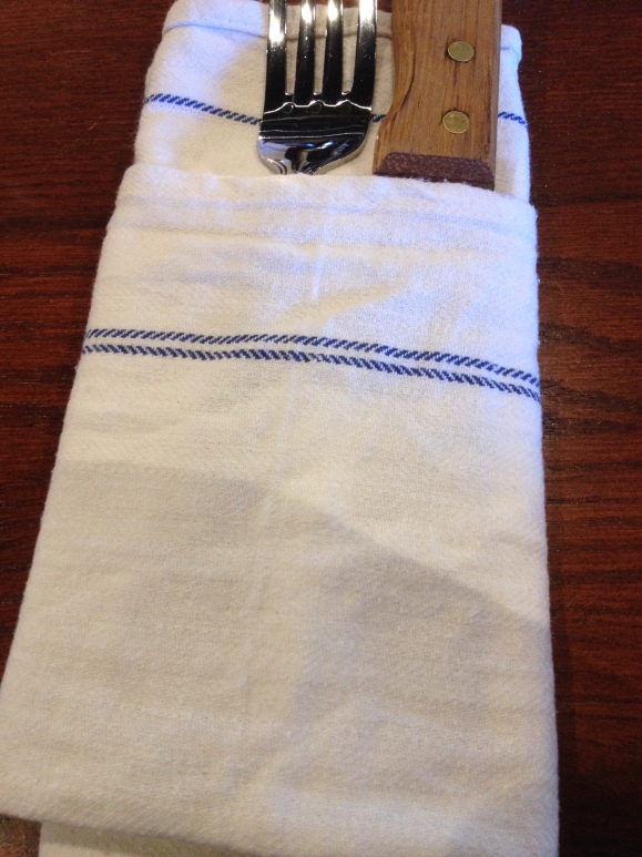 Cloth napkins!