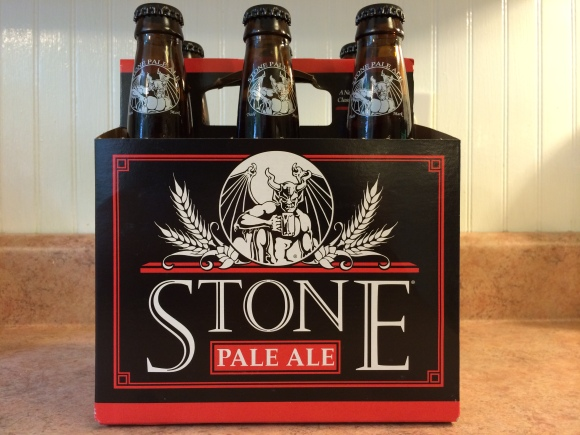 Stone Pale Ale - Soon to be a rare sight